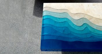 Alexandre Chapelin - Lagoon Series - Table Design