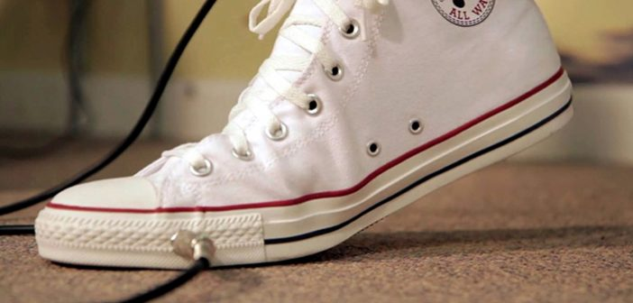 Converse All Wah - Shoe with a wah wah paddle