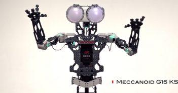 meccanoid interactive moduler talking robot
