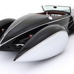 Retro Car Art Deco CarDesign Otomobil