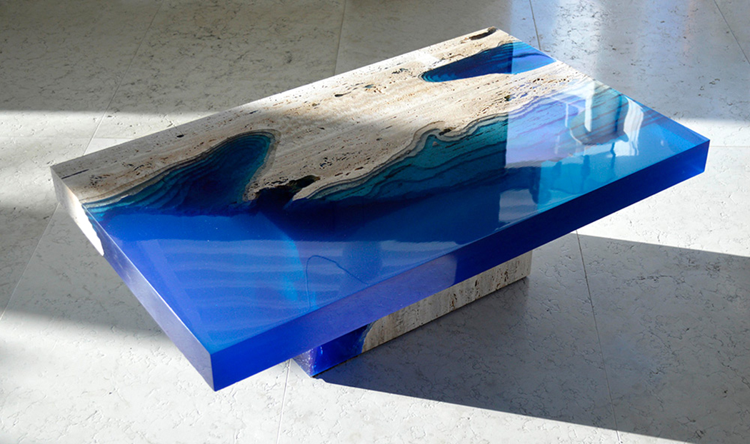 Alexandre Chapelin - Lagoon Series - Table Design