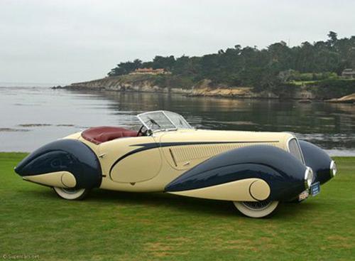 Retro Car Art Deco CarDesign Otomobil