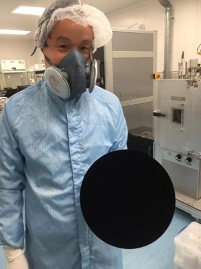 Vantablack black material