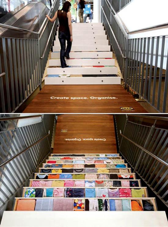 Floorgraphic- floor ads.