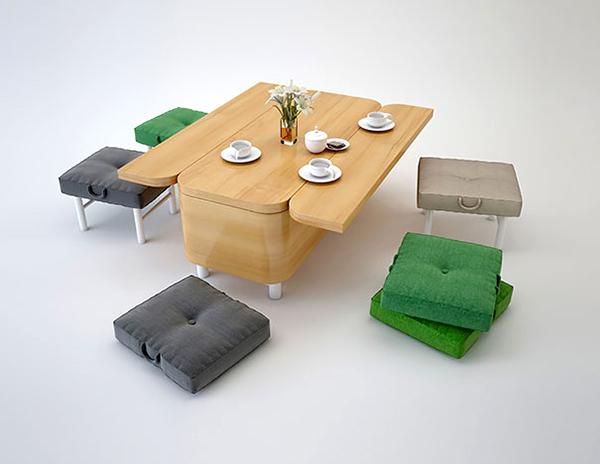 Crea.Tips - Tasarım - İç Mimarlık - Küçük Mekan Çözümleri