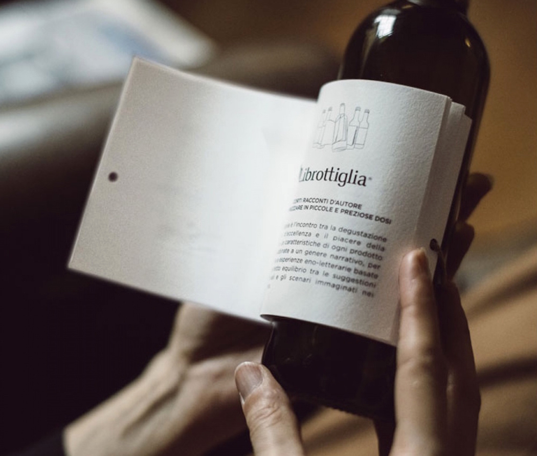 creative - package design - wine - librottiglia - minimalist design