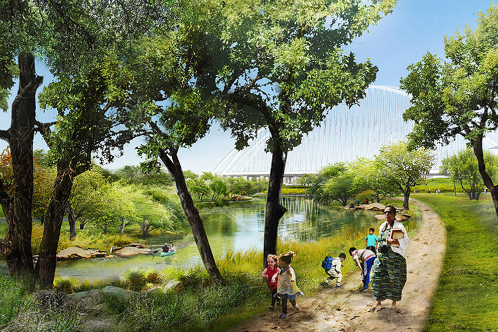 Dallas - Trinity River - Biggest Nature Park
