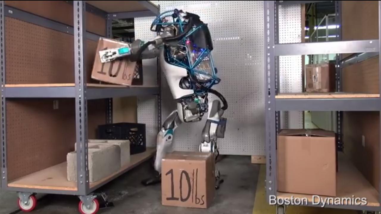 Technolgy - Boston Dynamics - Atlas - Humanoid Robot - Google