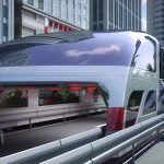 Chine - Technology - Train - Bus - Futuristic - Design