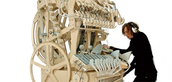 Wintergatan Marbel Machine - Martin Molin - Instrument