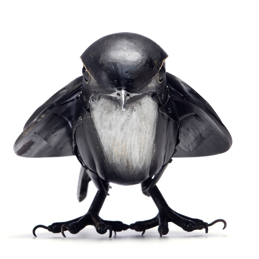 Crea.Tips - Sanat - Heykel - Eduard Martinet - Sculpture - Waste Materrial - Atık Parça