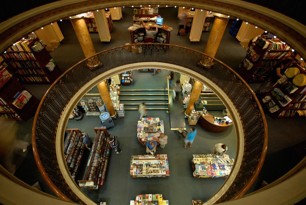 İç Mimarlik - Tiyatro - Kütüphane - Interier Architecture - Theater - Library - El Ataneo Grand Splendid