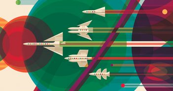 Tasarim - Grafik Tasarim - Vintage - Poster - Nasa - Uzay Seyahati - JPL - Space Travel