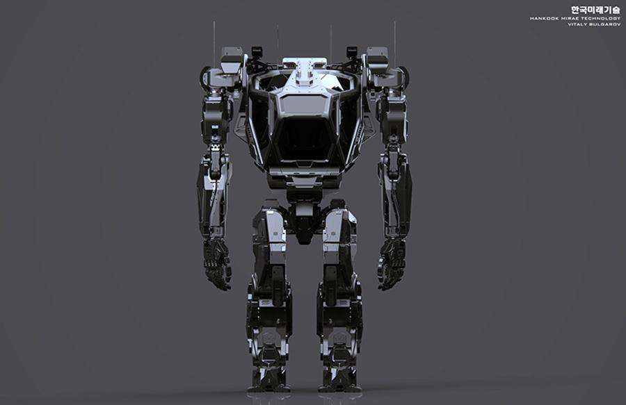 Teknoloji - Hankook Mirae Technolgoy - Gundam - Robot - Vitaly Bulgarov