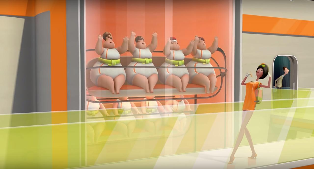 Tasarım - 3D - Animasyon - Film - Slimetime