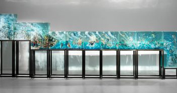 Sanat - Heykel - Enstelasyon - Dustin Yellin - Ten Pieces