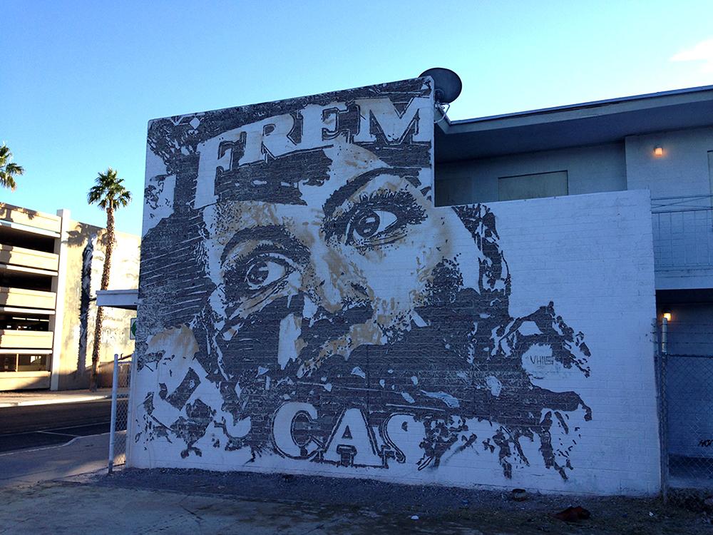Sanat - Sokak Sanatı - Vhils - Mural - Carving - Portrait