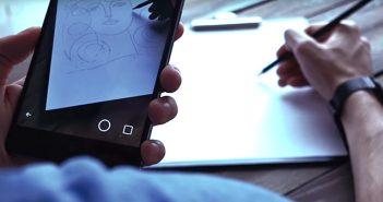 Crea.tips - Sanat - SokakSanati - Eskiz - StreetArt - Sketch - Uygulama - SketcAR