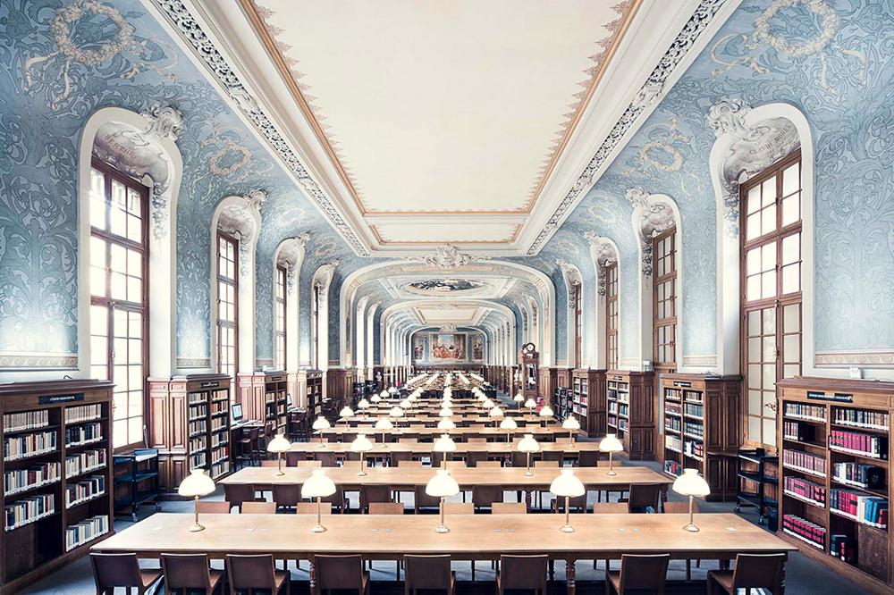 Crea.Tips - Sanat - Tasarım - Fotoğraf - Thibaud Poirier - Mimari - Kütüphane