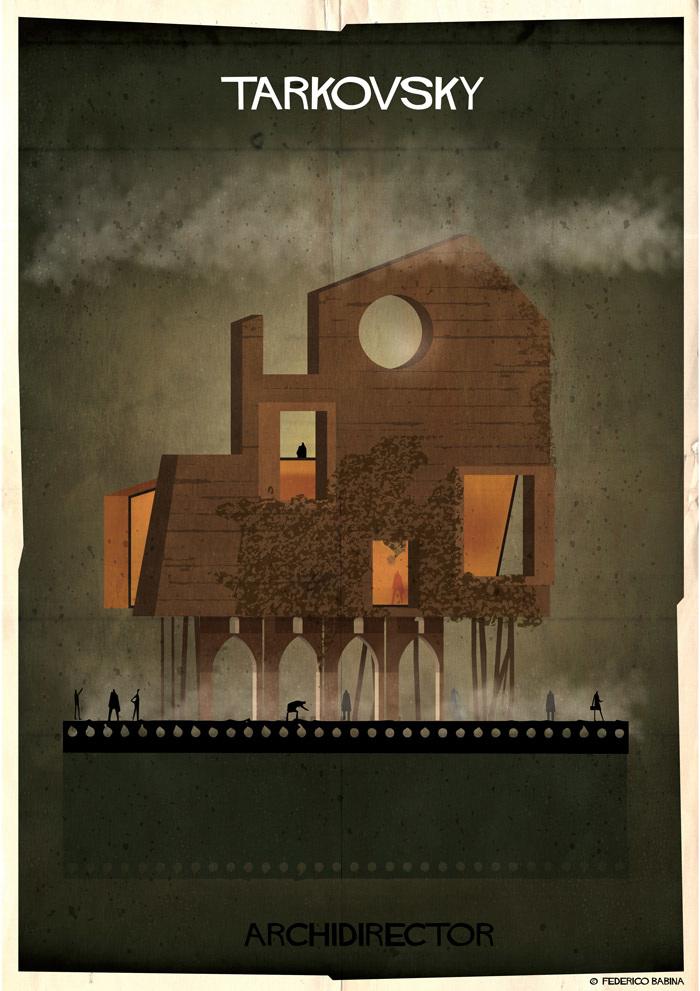 Crea.Tips-Sanat-illustrasyon-Film-yonetmen-Federico-Babina-ARCHIDIRECTOR-Andrei-Tarkovsky