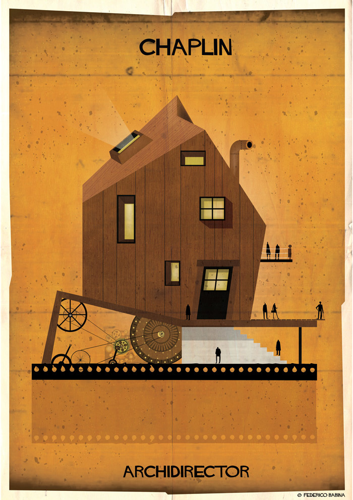 Crea.Tips-Sanat-illustrasyon-Film-yonetmen-Federico-Babina-ARCHIDIRECTOR-Charles-Chaplin