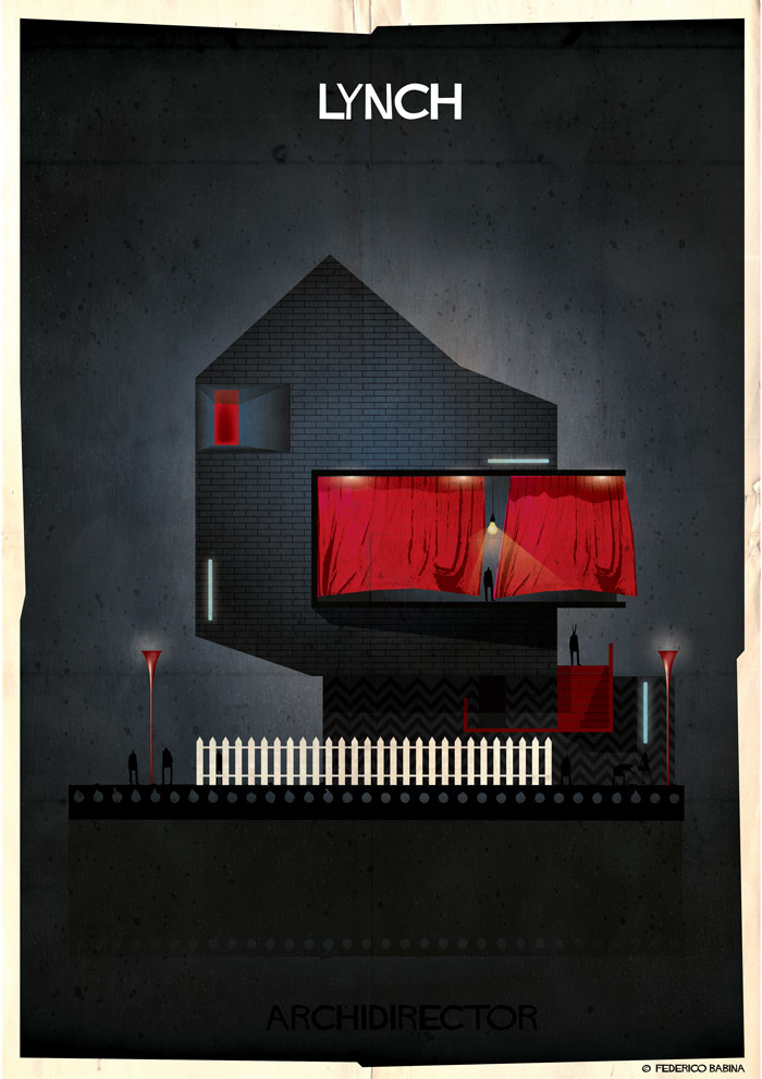Crea.Tips-Sanat-illustrasyon-Film-yonetmen-Federico-Babina-ARCHIDIRECTOR-David-Lynch