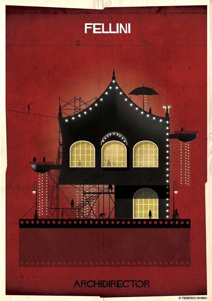 Crea.Tips-Sanat-illustrasyon-Film-yonetmen-Federico-Babina-ARCHIDIRECTOR-Federic-Fellini