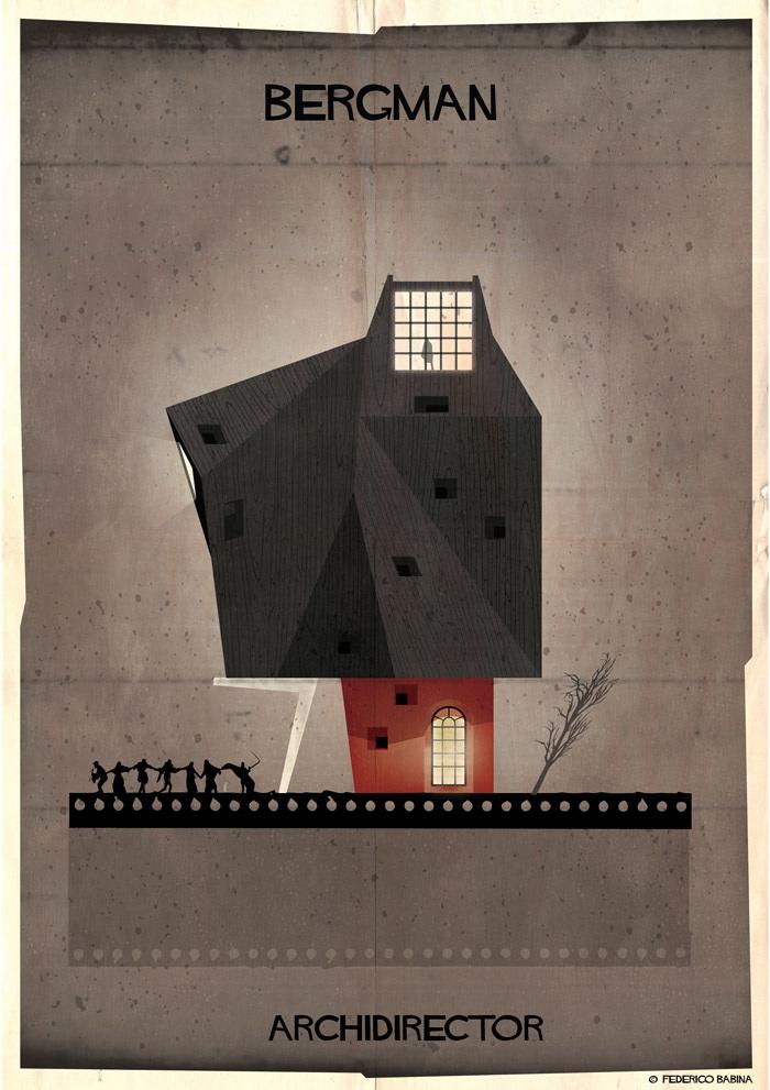Crea.Tips-Sanat-illustrasyon-Film-yonetmen-Federico-Babina-ARCHIDIRECTOR-Ingmar-Bergman