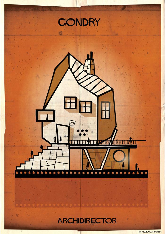 Crea.Tips-Sanat-illustrasyon-Film-yonetmen-Federico-Babina-ARCHIDIRECTOR-Michel-Gondry