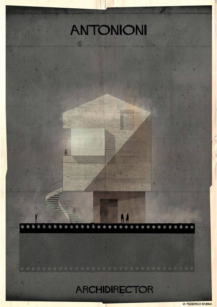 Crea.Tips-Sanat-illustrasyon-Film-yonetmen-Federico-Babina-ARCHIDIRECTOR-Michelangelo-Antonioni