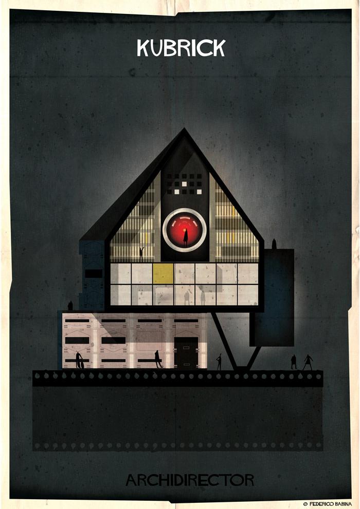 Crea.Tips-Sanat-illustrasyon-Film-yonetmen-Federico-Babina-ARCHIDIRECTOR-Stanley-Kubrick