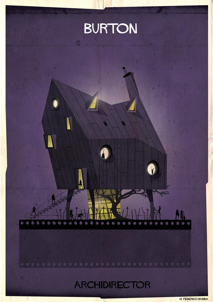 Crea.Tips-Sanat-illustrasyon-Film-yonetmen-Federico-Babina-ARCHIDIRECTOR-Tim-Burton