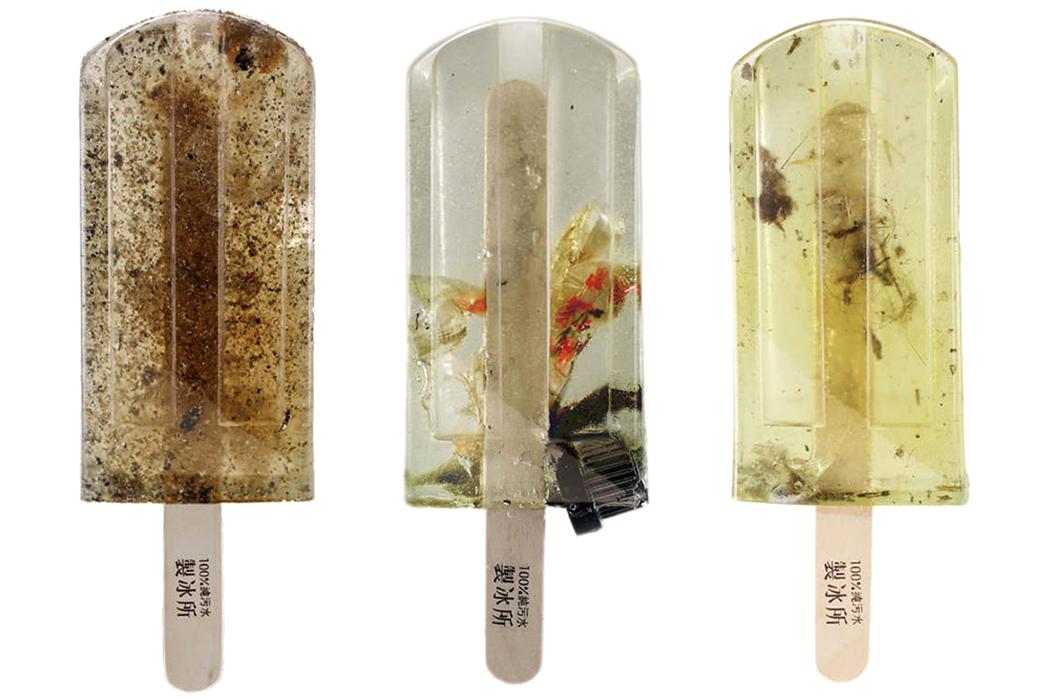 Crea.Tips - Tasarım - Kampanya - Sanat - Frozen Treats - Polluted Water Popsicles - Kirli Su Dondurmaları