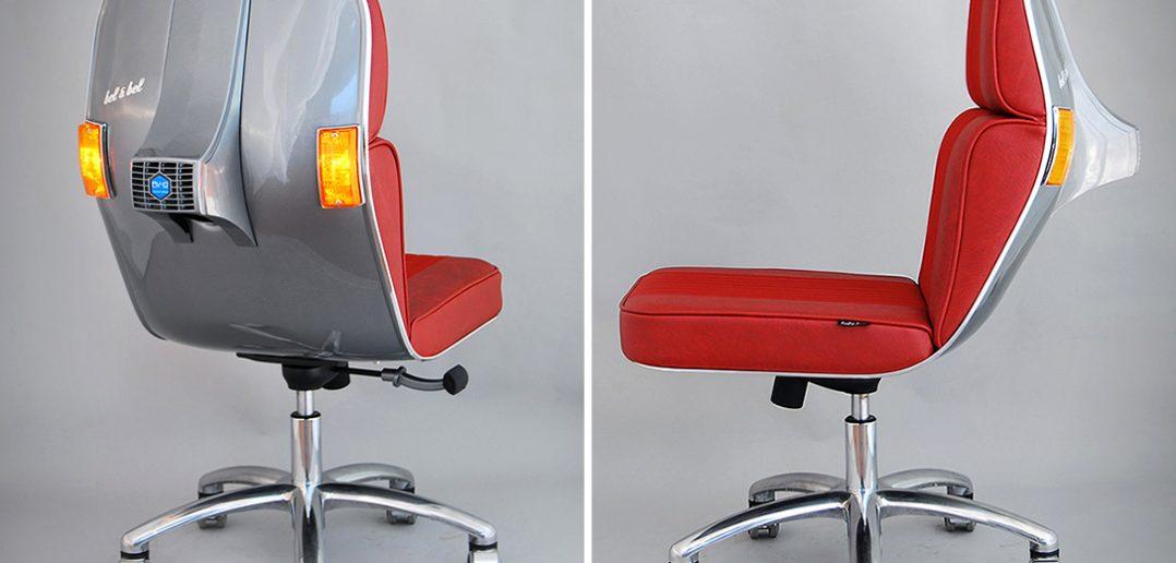 Crea.Tips - Tasarım - Endüstriyel Tasarım - Bel&Bel - Vespa - Scooter Chair - Featured