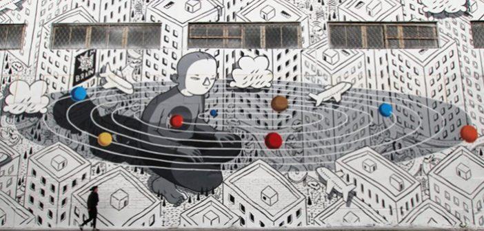 Basit ama Etkili Tarzı ile Sokak Sanatçısı; MILLO