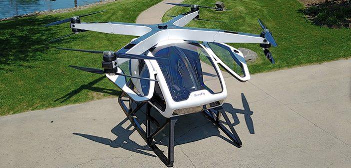 SureFly'dan İnsan Taşıyabilen Dev Drone – OCTOCOPTER