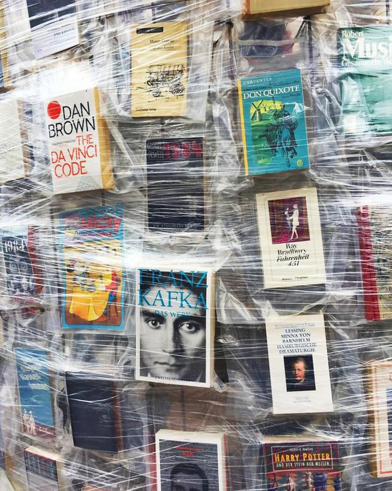 Crea.Tips - Art - Installation - Enstelasyon - The Phartenon Of Books - Kitapların Parthenonu - Marta Minujín