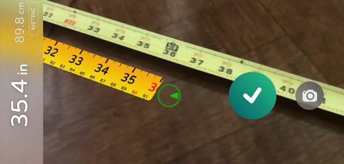Crea.Tips - Design - AR Measure - Augmented Reality App. - Arttırılmış Gerçeklik Uygulaması