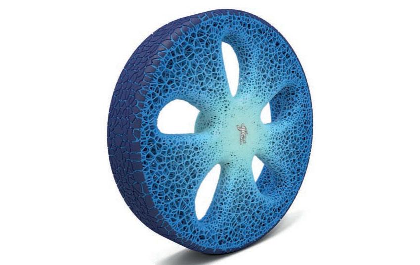 Crea.Tips - Design - Industrial Design - Recycable - Futuristic - Tire - Concept - Michelin - Geri Dönüşümlü Lastik Konsepti