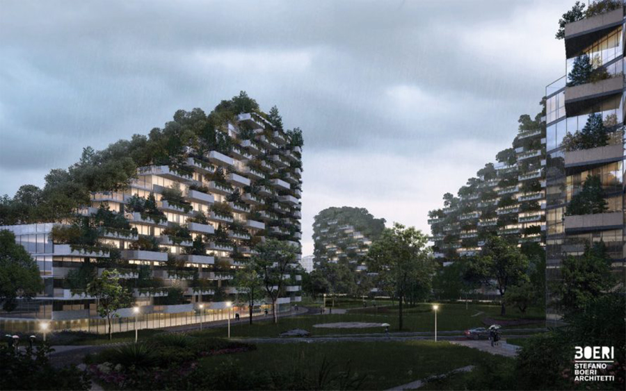 Crea.Tips - Nature - Architecture - Chinese Forest City - Orman Şehri