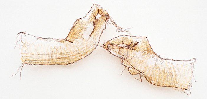 AMANDA McCAVOUR'dan Göz Alıcı Lif Sanatı Çalışmaları